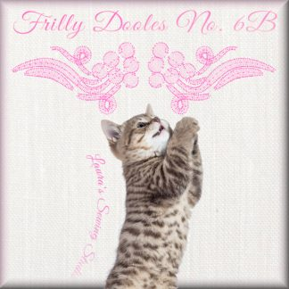 Frilly Doodles No. 6B - Free Embroidery Design