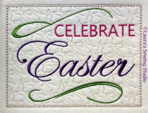Celebrate Easter Banner Project Top