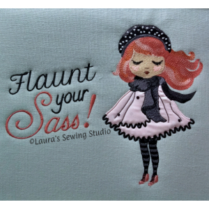 Pami - Flaunt Your Sass Embroidery Project