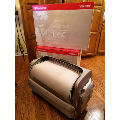 For Sale - Viking Epic Embroidery Machine with Lots of Extras, New