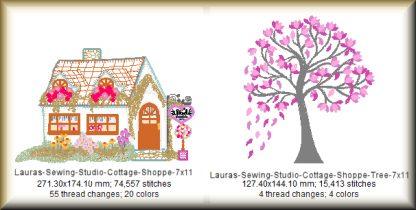 Cottage Shoppe 7x11 Design Details