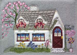Cottage Shoppe 8x11 Applique Machine Embroidery Project