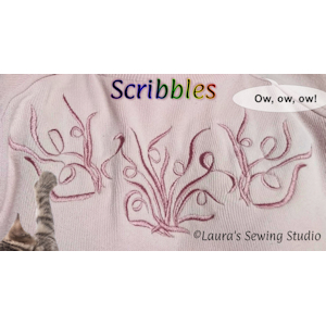 Scribbles - Free Embroidery Designs