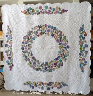 Kathy and Sandi's Applique Elegance Quilt – Oh my!