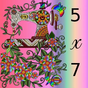 5x7 Machine Embroidery Designs