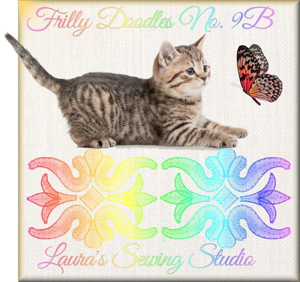 Frilly Doodles No. 9B - Free Embroidery Design