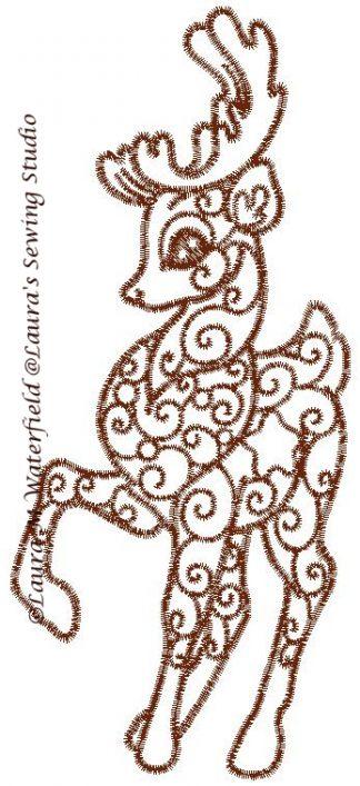 Enchanted Reindeer No. 1
