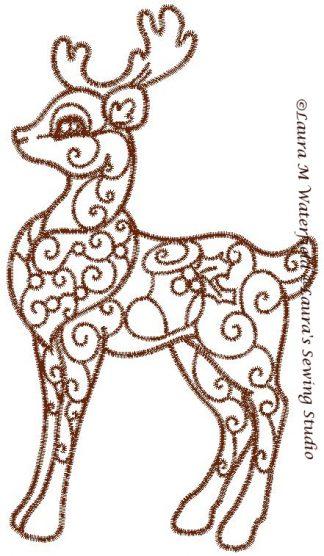 Enchanted Reindeer No. 3